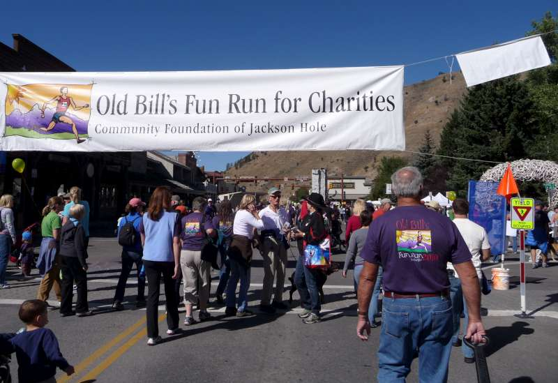 Jackson Hole WY Old Bill's Fun Run